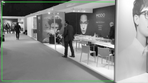 Picture of an exhibition stand.